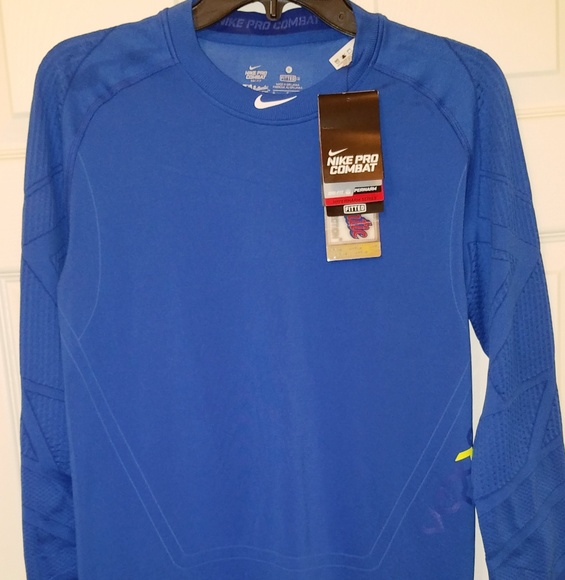 d1fb7a4b Nike MLB Shirts | Nike Pro Combat Drifit Hyperwarm Longsleeve Shirt ...